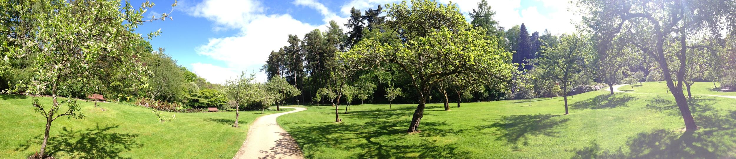gardens of Scotland Glen Grant whiskey distillery