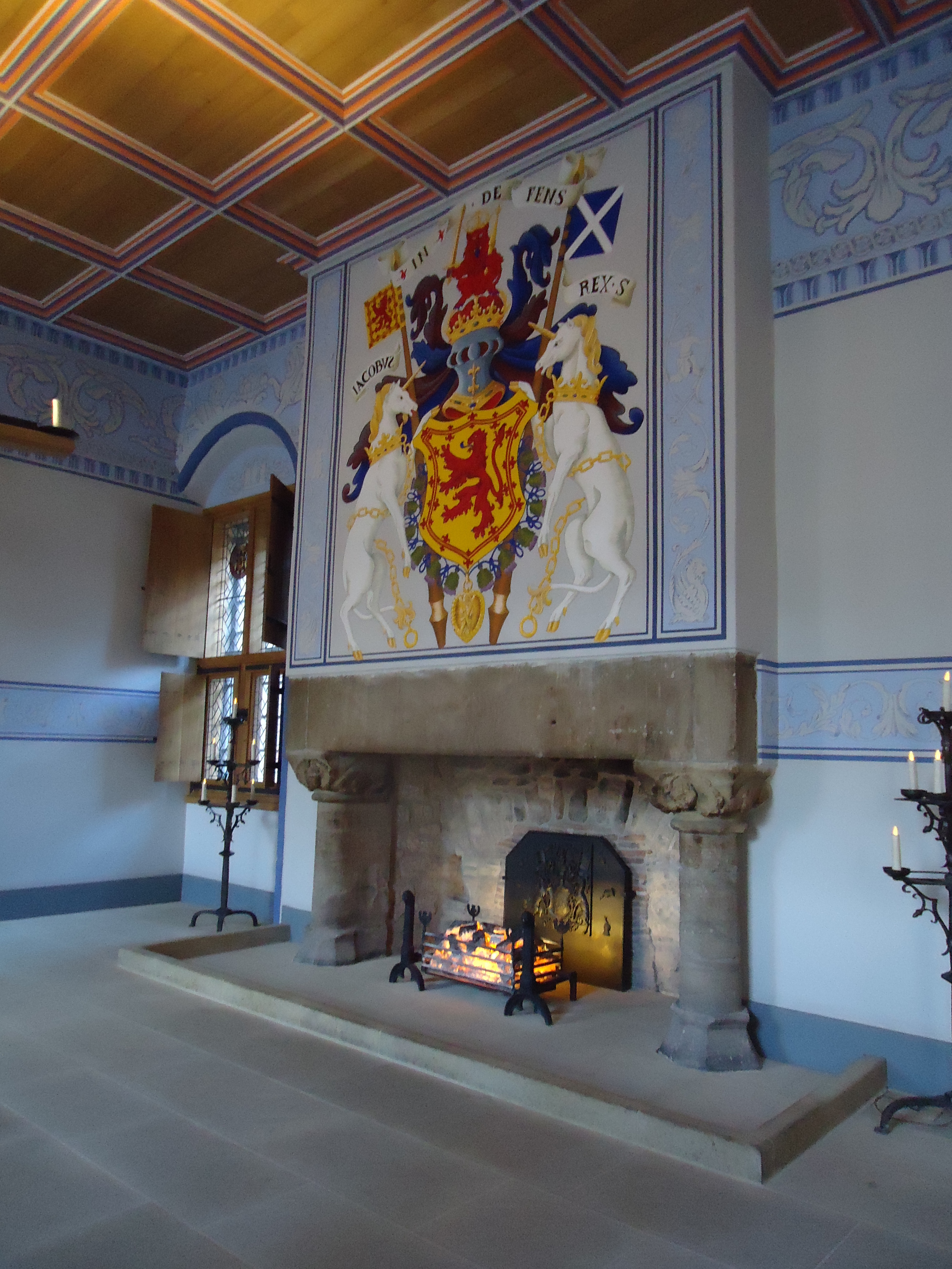 Stirling Castle, Scotland interior