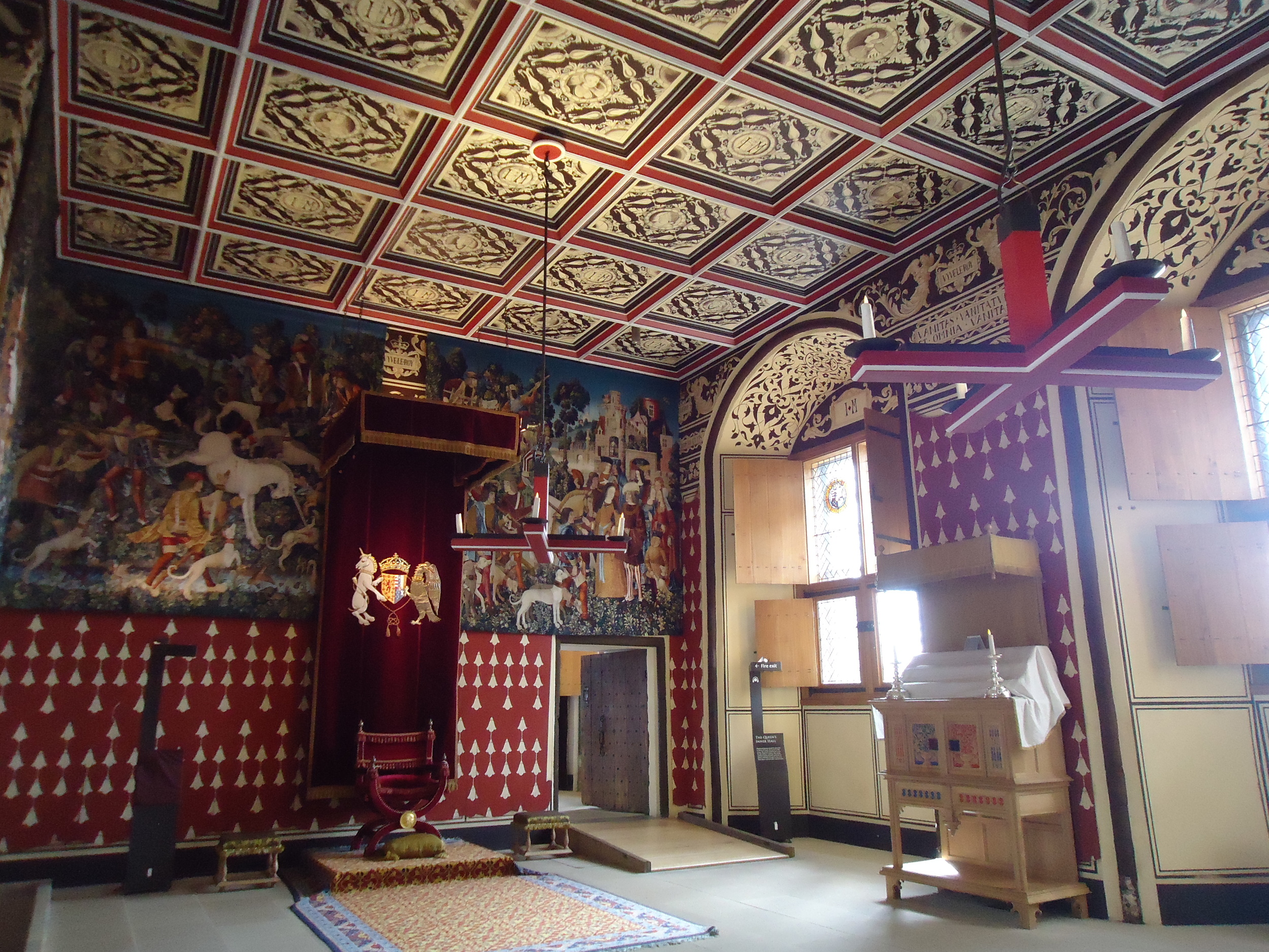 Stirling Castle Scotland interior