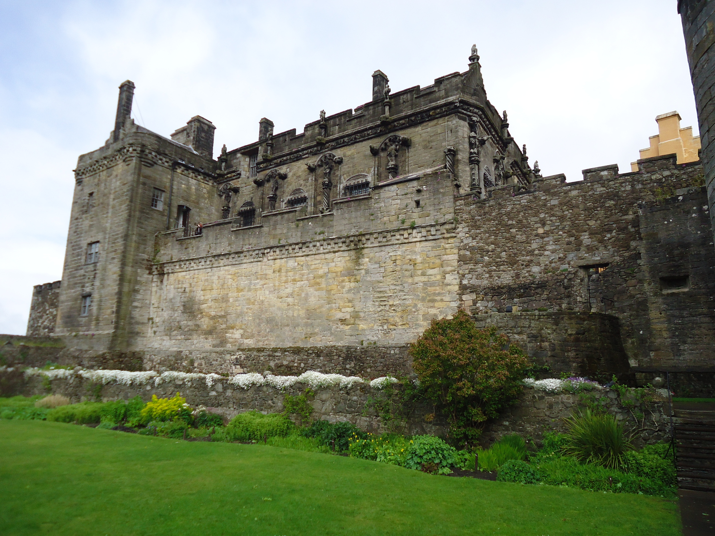 Stirling Castle exterior shot