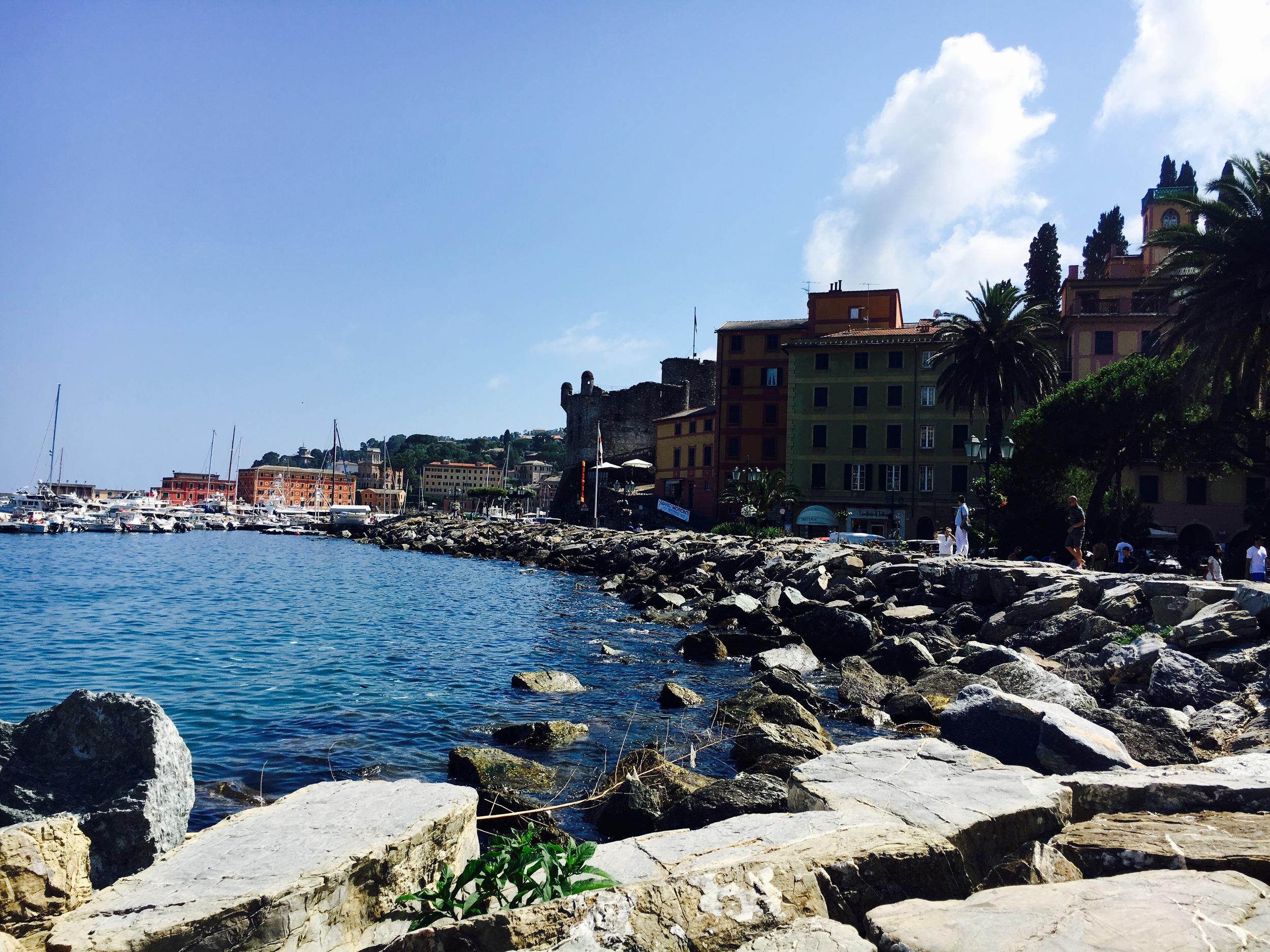 Harbor in  in Santa Margherita Ligure, Italy
