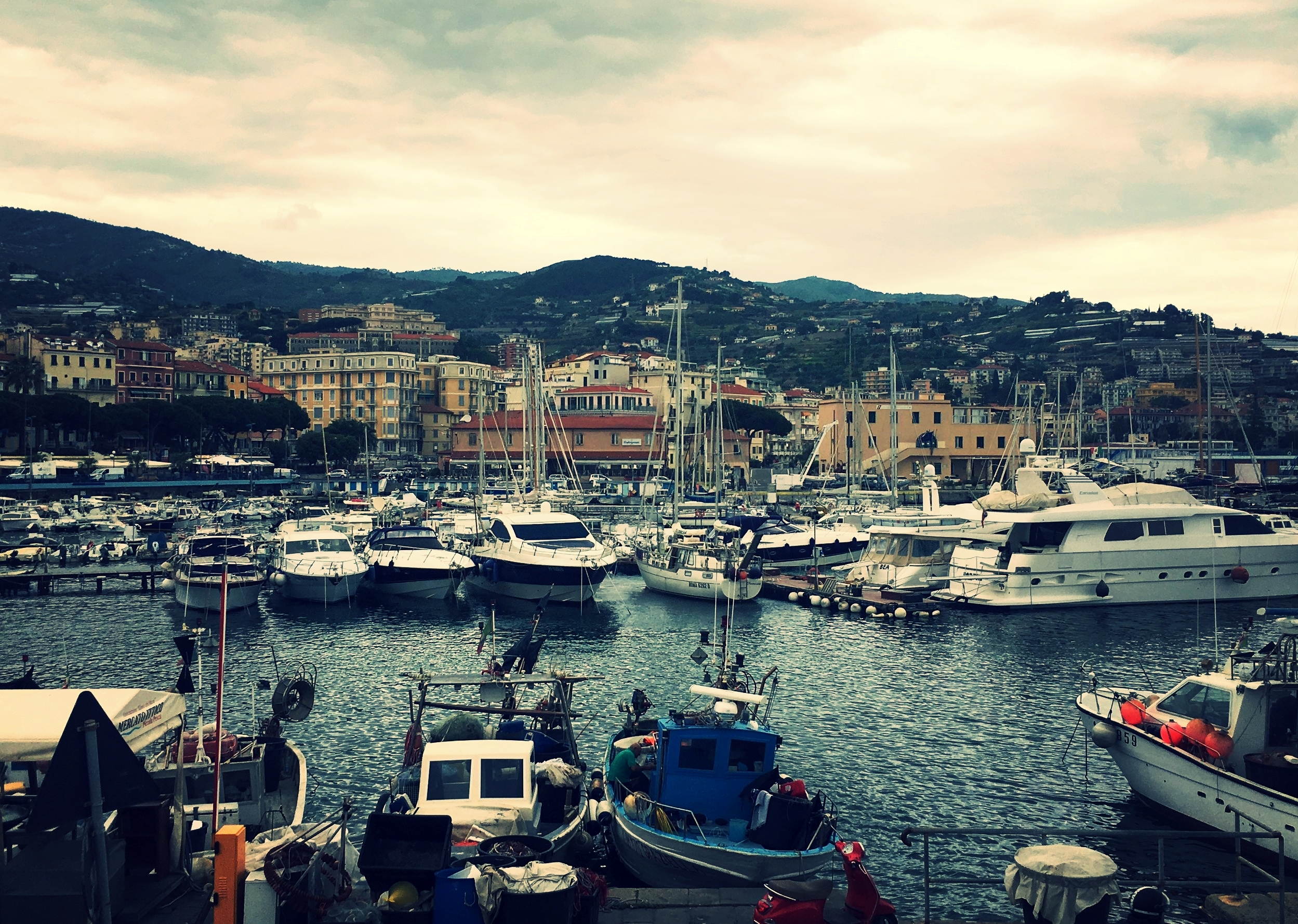 San Remo Italy harbor
