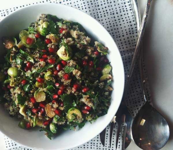 TFC Pomegranate & Brussel Sprout Salad 4.JPG