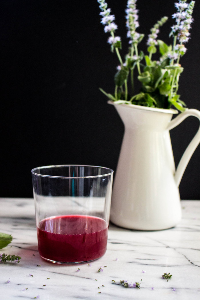 Blackberry Mint Cordial || Local Haven