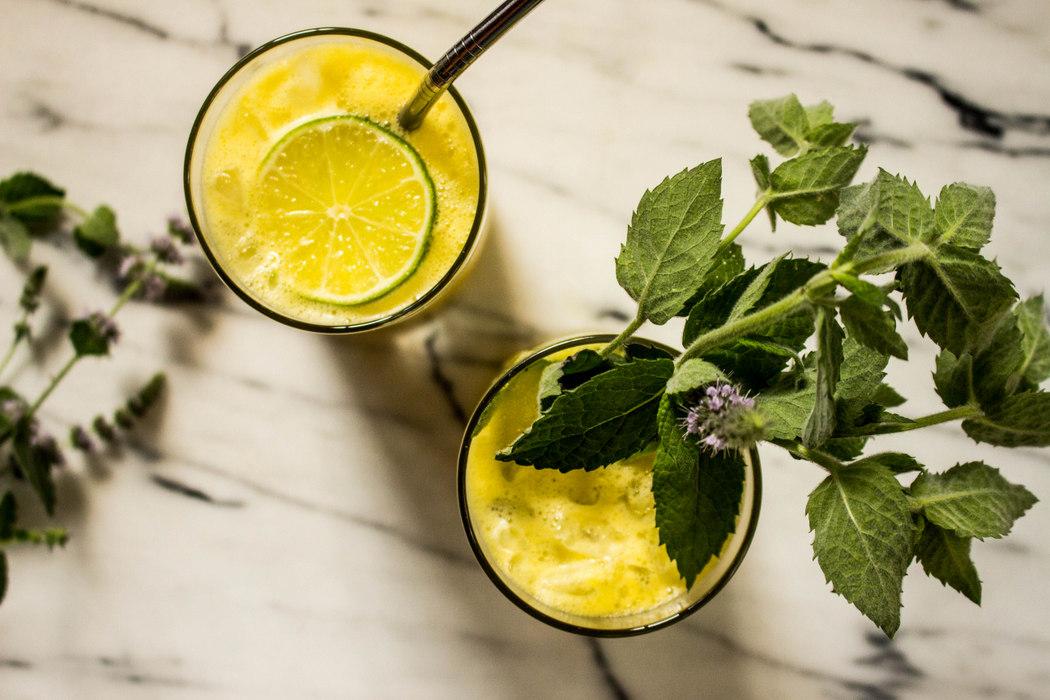 Pineapple Mint Lime Juice