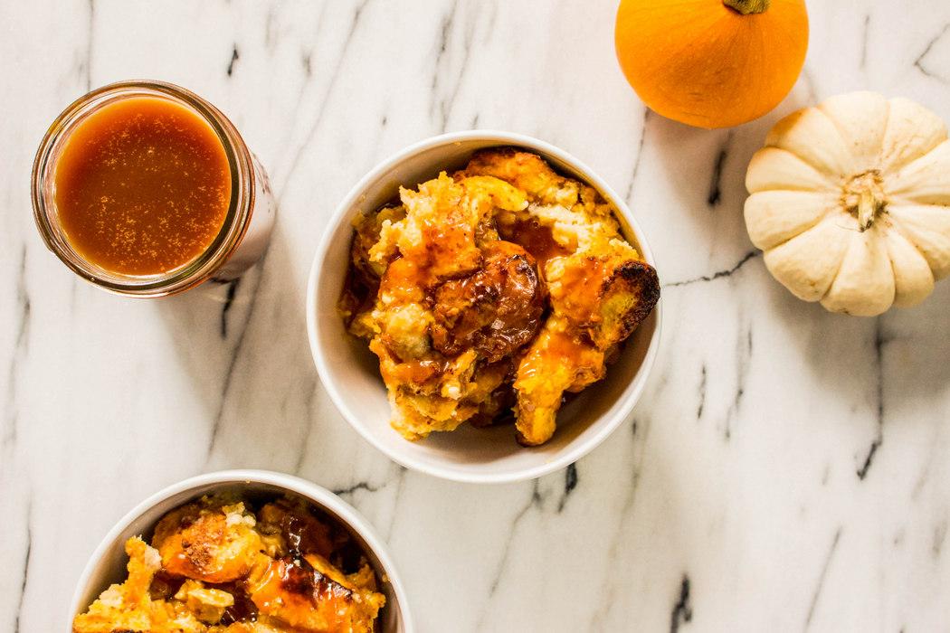 Pumpkin Bread Pudding with Salted Bourbon Caramel-4.jpg