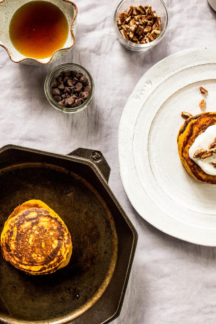 Roasted Squash Pancakes