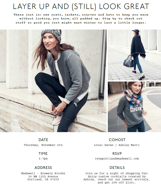 Local Haven Madewell Event