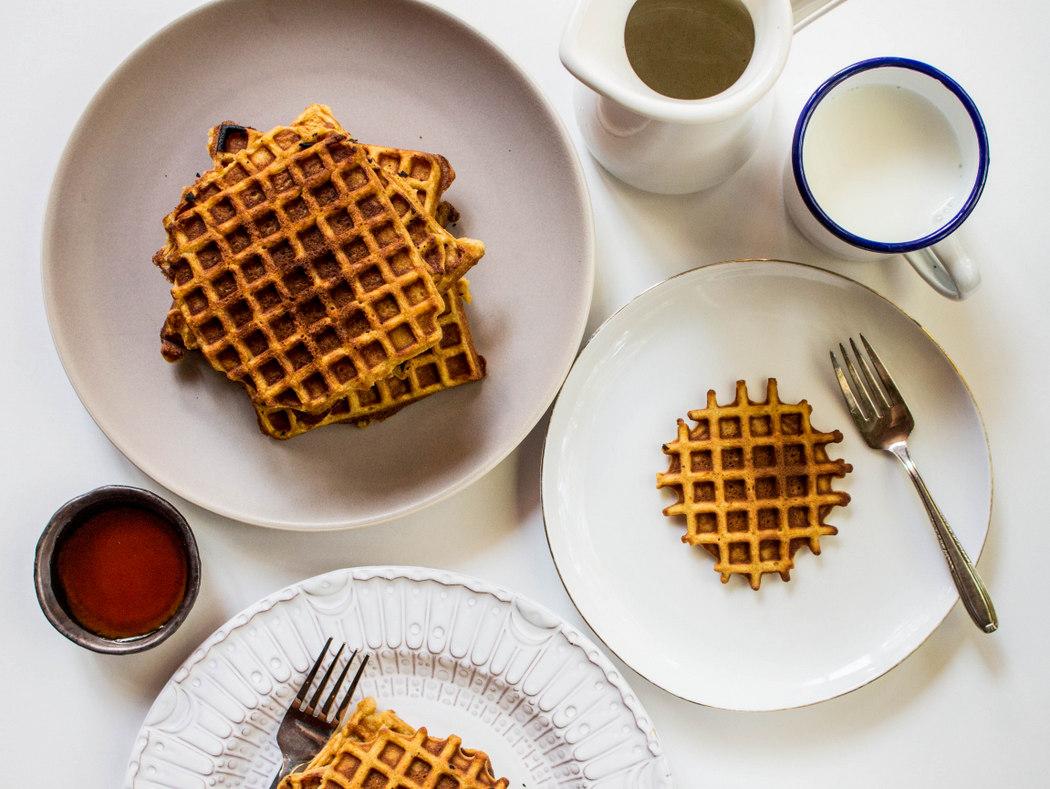 Butternut Squash Waffles