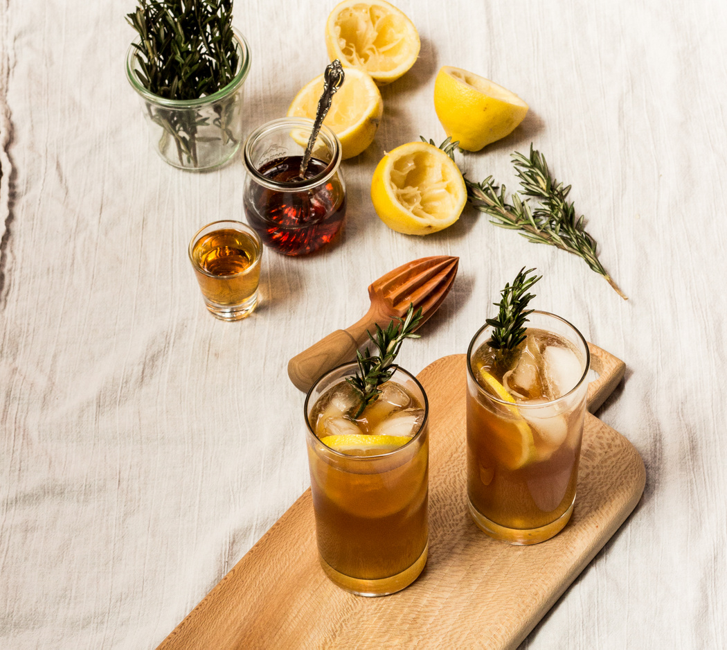 Maple Bourbon with Rosemary