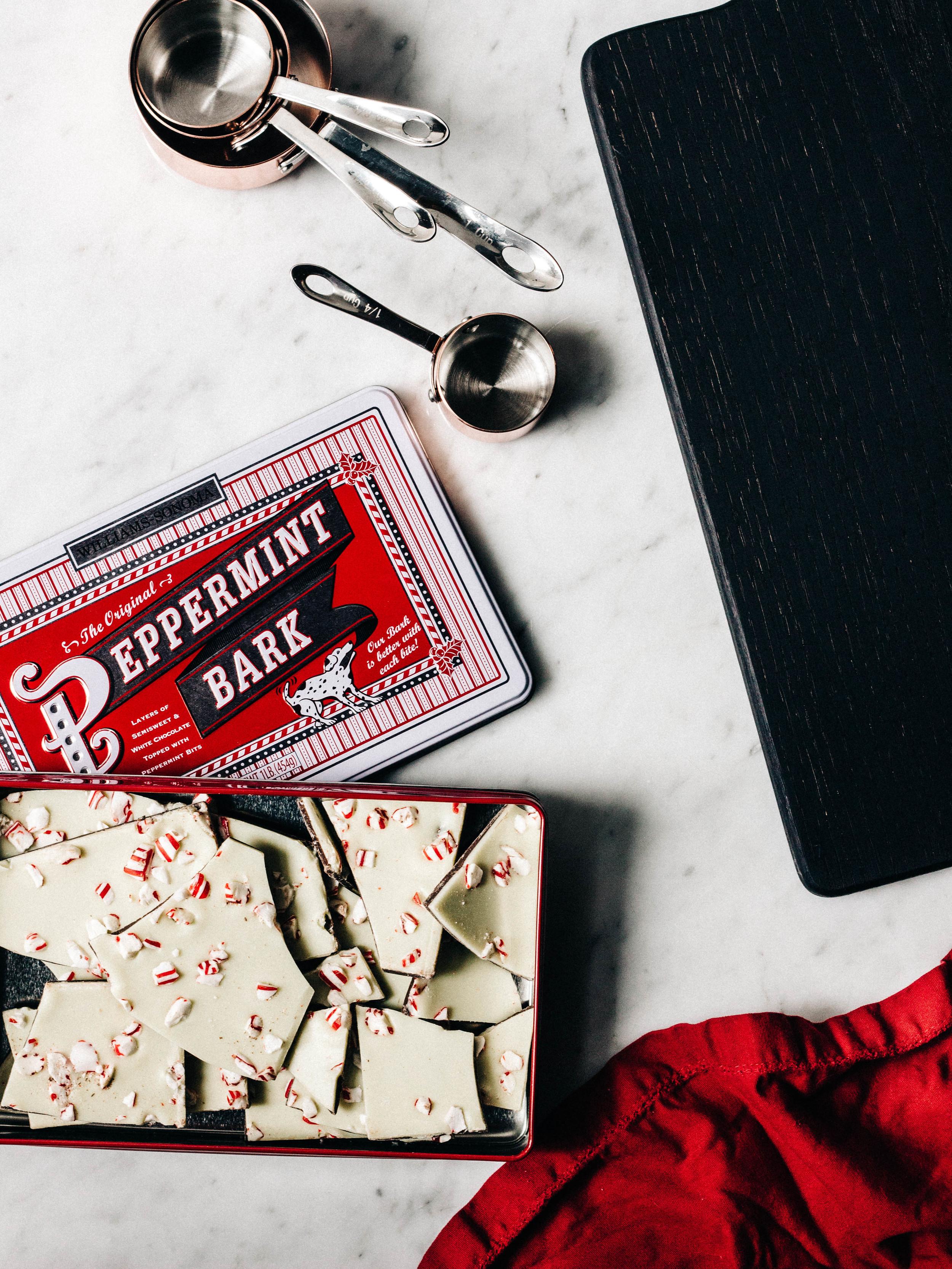 Chocolate-Peppermint Bark Pavlova