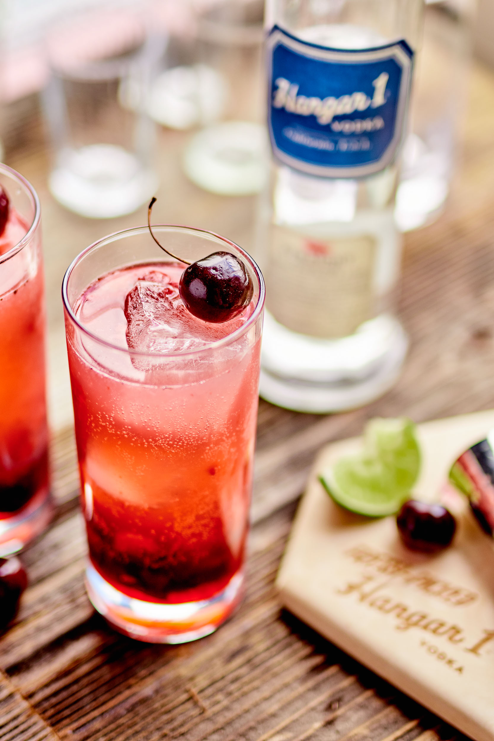 Roasted Berry Vodka Smash