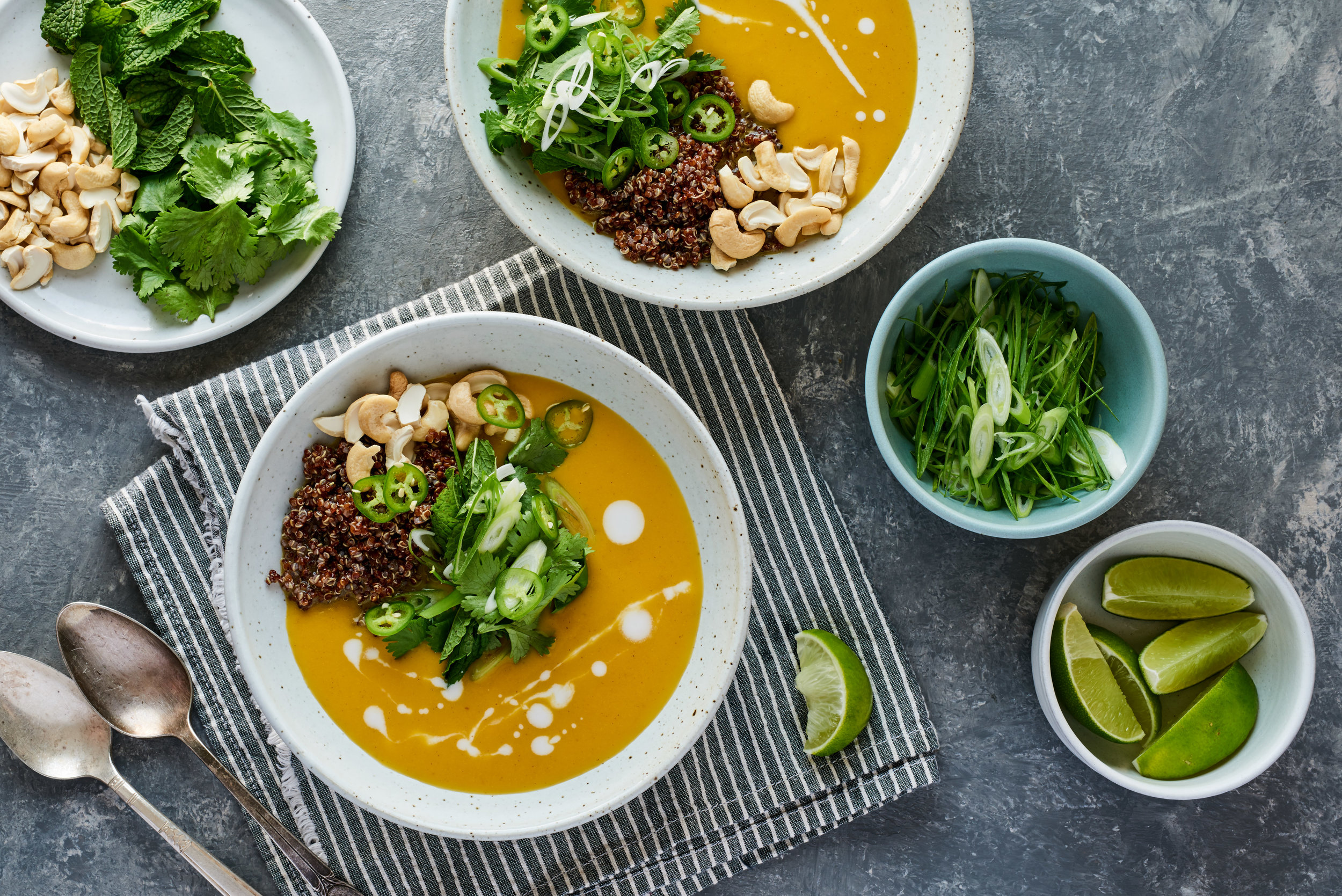 Butternut Curry Soup with Coconut Milk