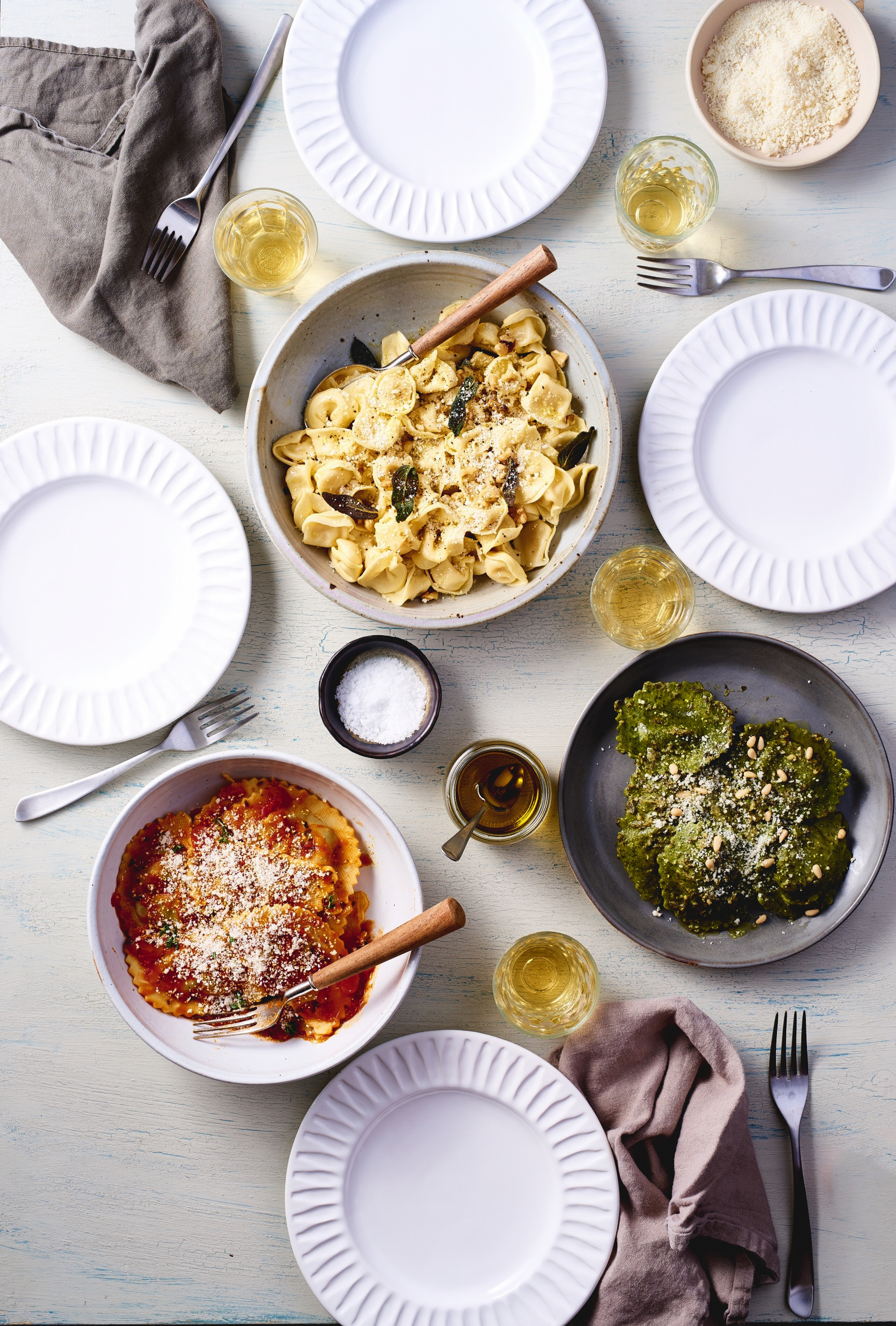 Dinner Time with Buitoni Pasta
