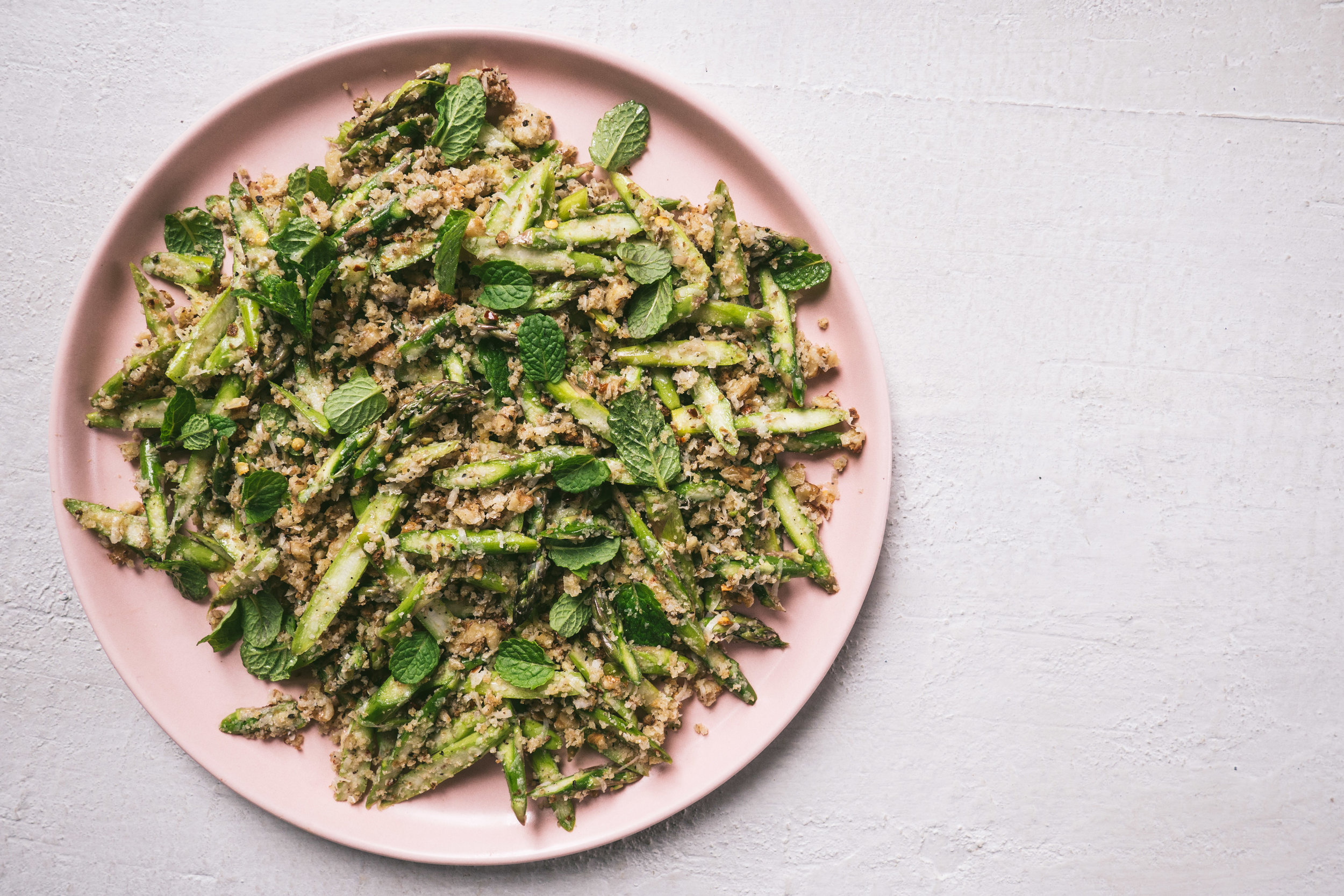 Raw Asparagus Salad with Walnuts + Bread Crumbs (2 of 1).jpg