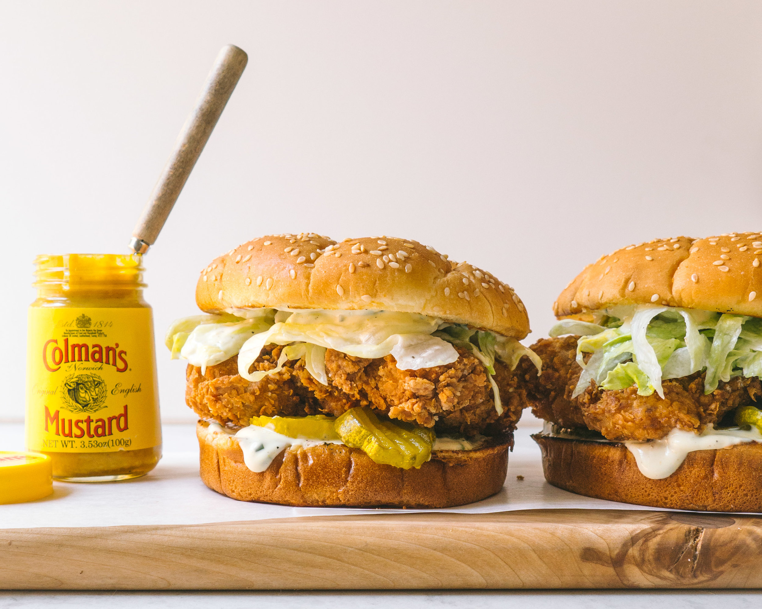 Hot and Spicy Fried Chicken Sandwich