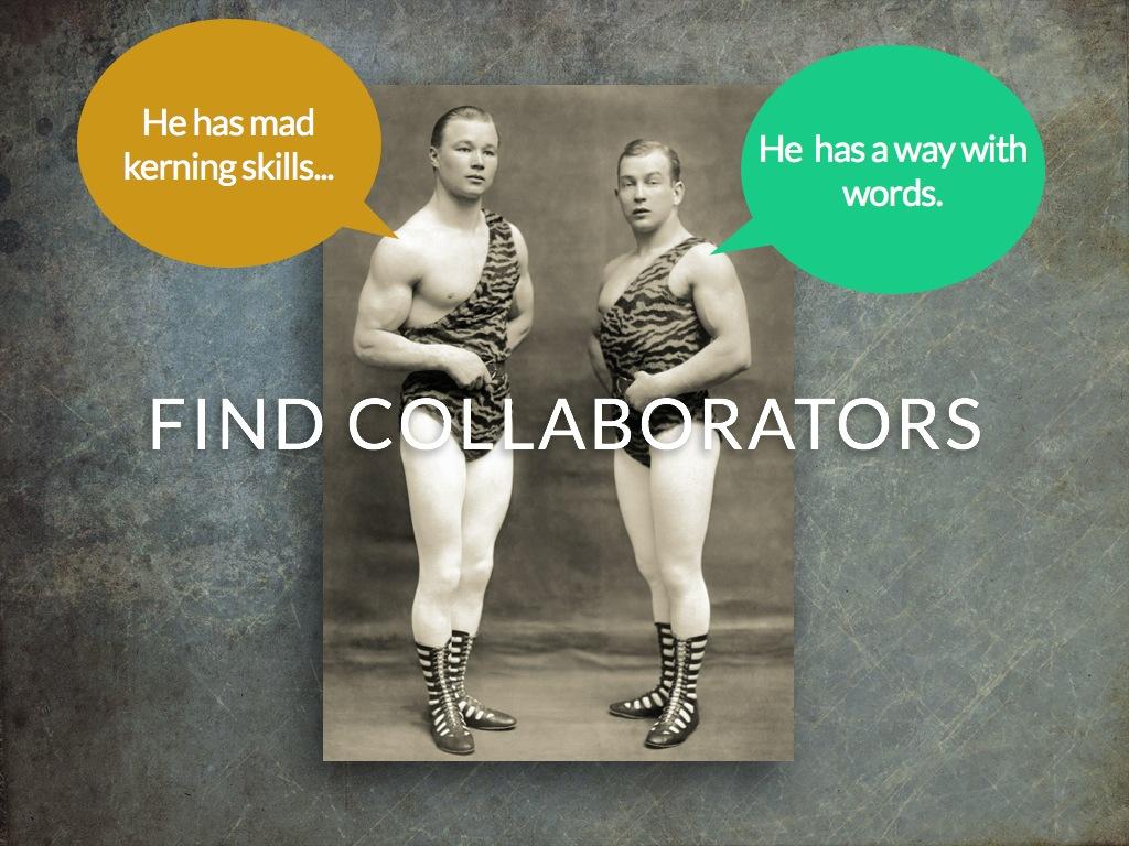 Find collaborators