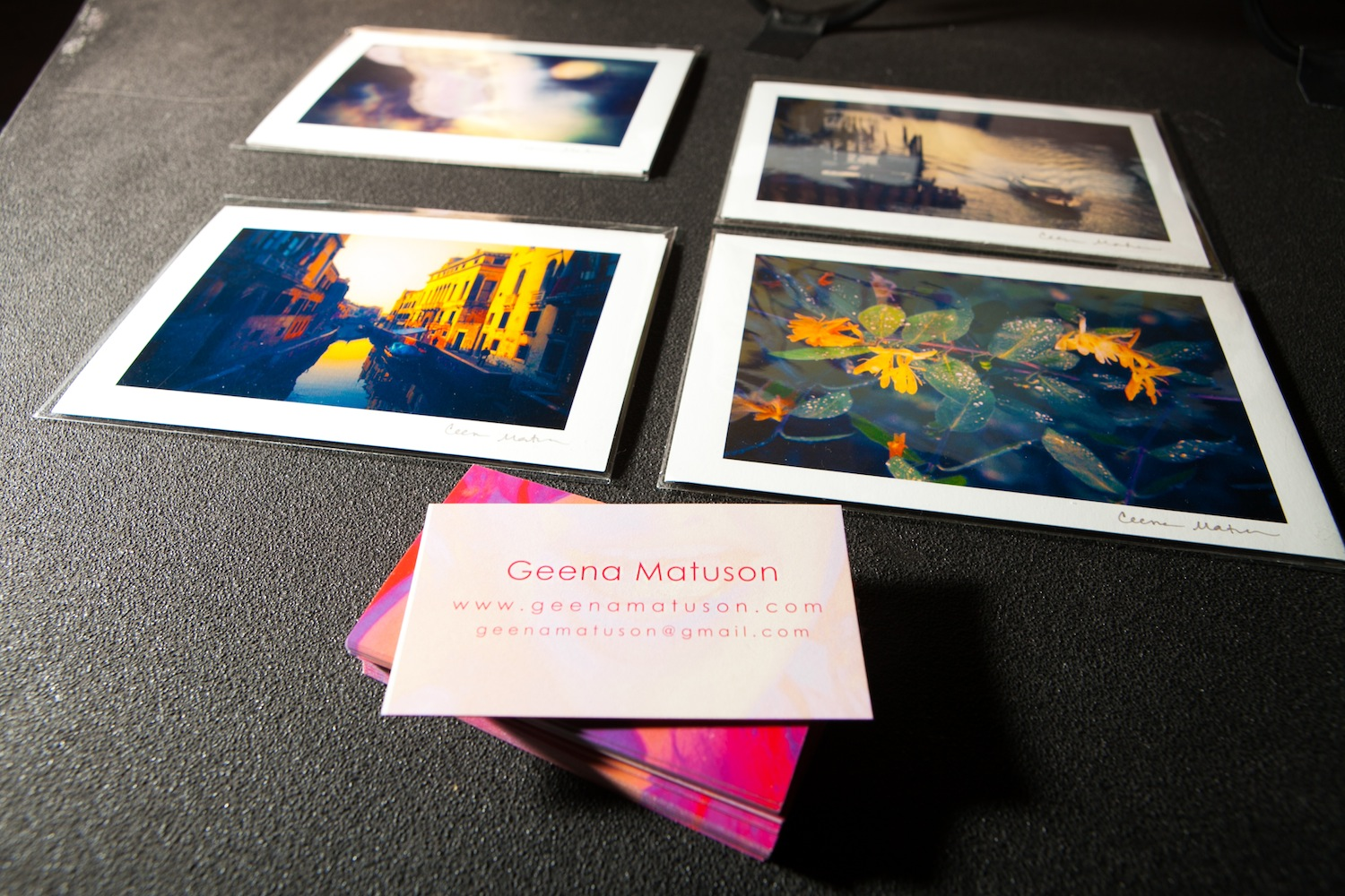 Geena Matuson's (@geenamatuson) work at RAW Artists REVOLUTION event, May 2014.