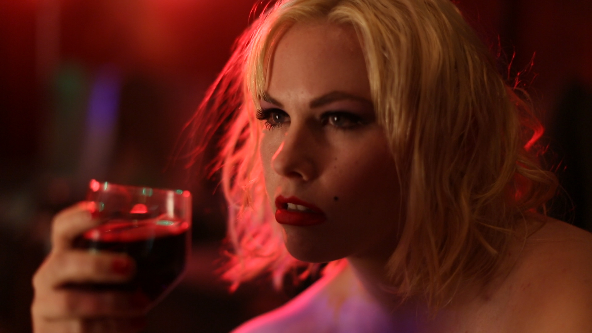 Andrea Kinch as Norma Jeane in Padilla's 'I Am Monroe?' (Production).