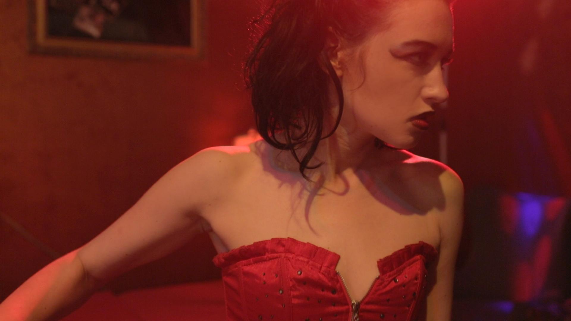 Lindsey Cork in Padilla's 'I Am Monroe?' (Production).