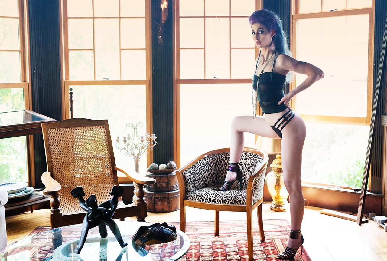 Geena Matuson (@geenamatuson) photographed by Michael Bambuch/Mike Jacobs, 2014.