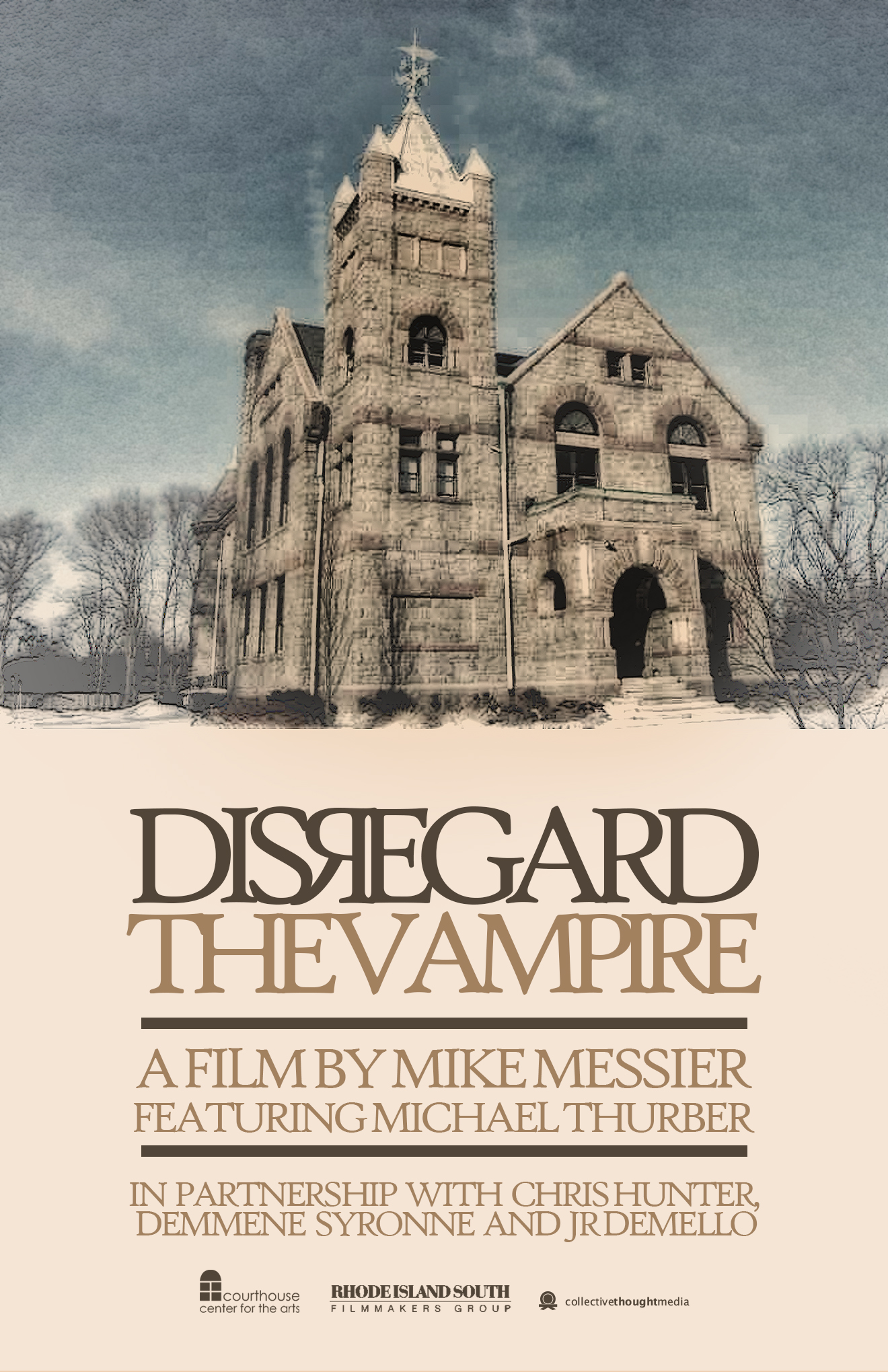 Mike Messier's 'Disregard The Vampire' filming in Rhode Island, 2014.