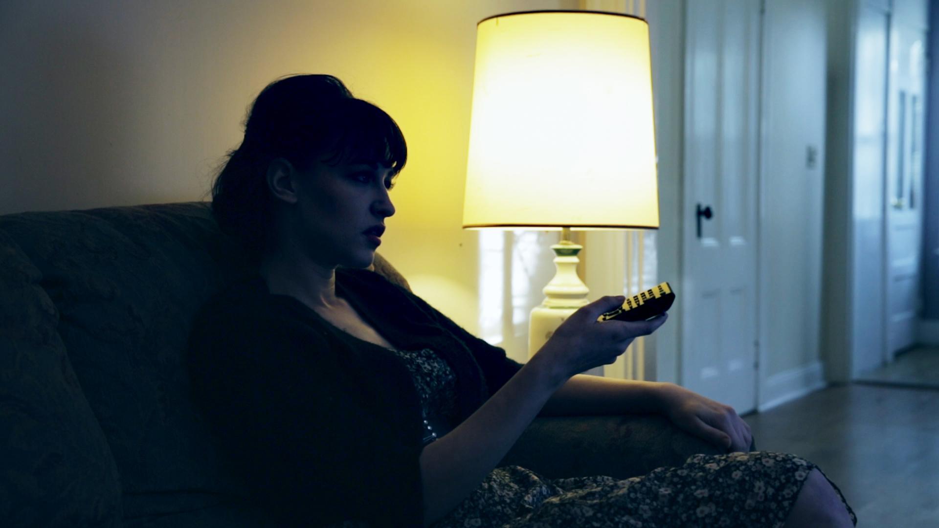 Lindsey Elisabeth Cork in Kickstarter campaign trailer for 'Amor Sangre,' 2014.