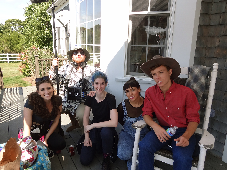 Rachael Sinel, Joe Cooke, Geena Matuson (@geenamatuson), Vicki Solis, Anthony Del Negro, 2014.