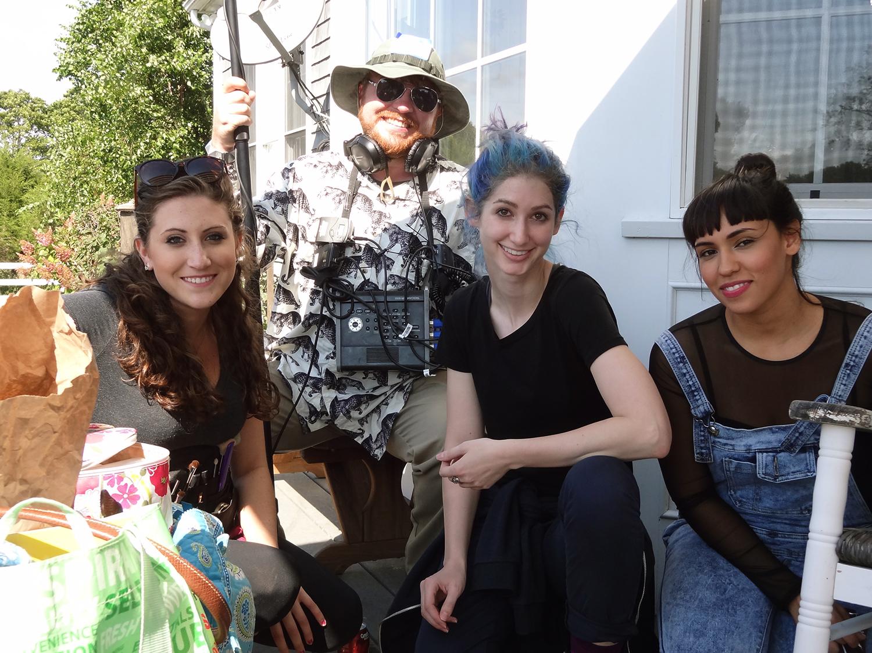 Rachael Sinel, Joe Cooke, Geena Matuson (@geenamatuson), Vicki Solis, 2014.