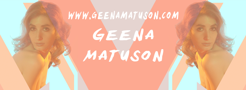 Geena Matuson's new branding on Facebook, 2015.