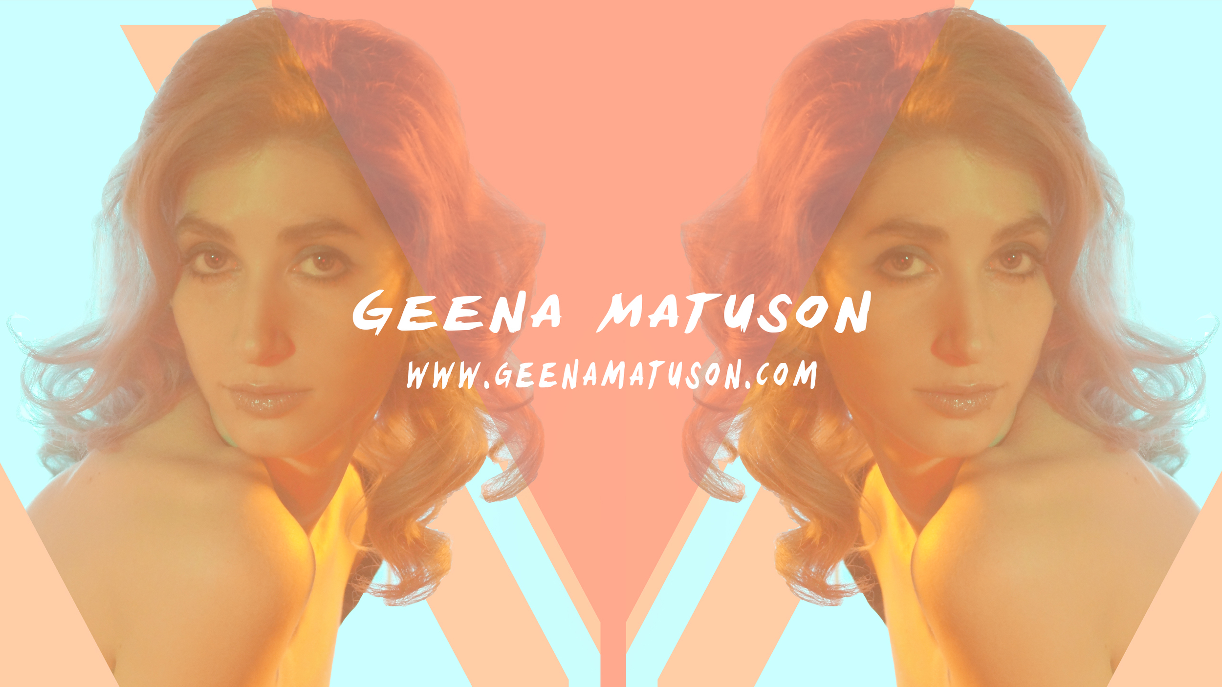 Geena Matuson's new branding on YouTube, 2015.