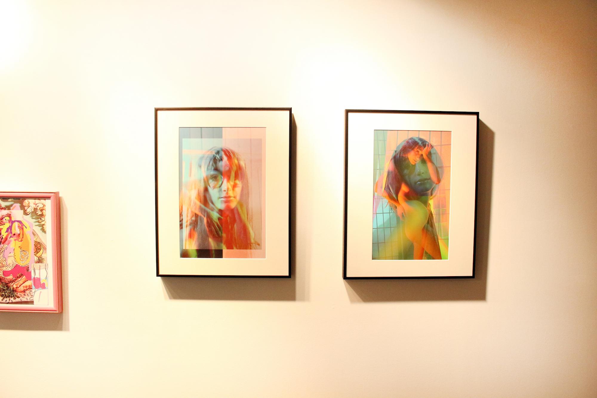 Yoked  and  Neon Opalescence   Geena Matuson