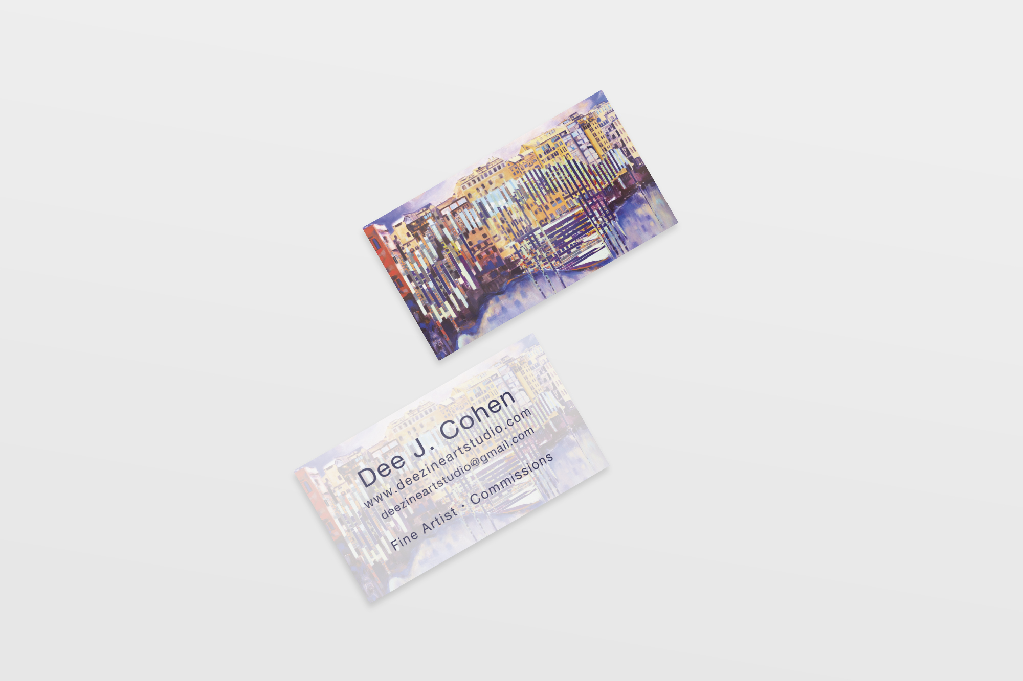 GeenaMatuson_BusinessCard_DeeCohen_Oscillations_2015.jpg