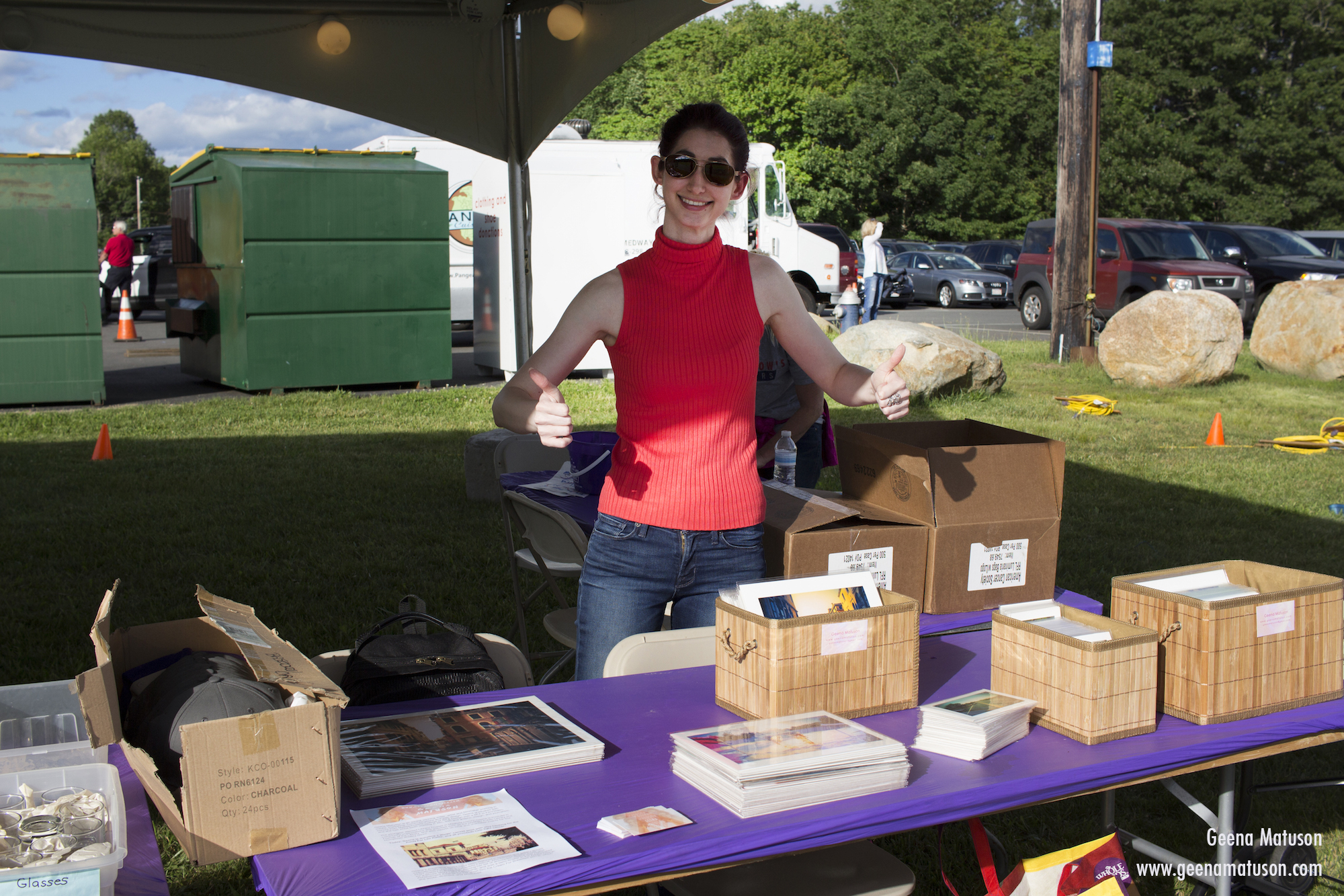 Geena Matuson at Relay for Life in Medway, MA 2016. Photography by Joe Musacchia.