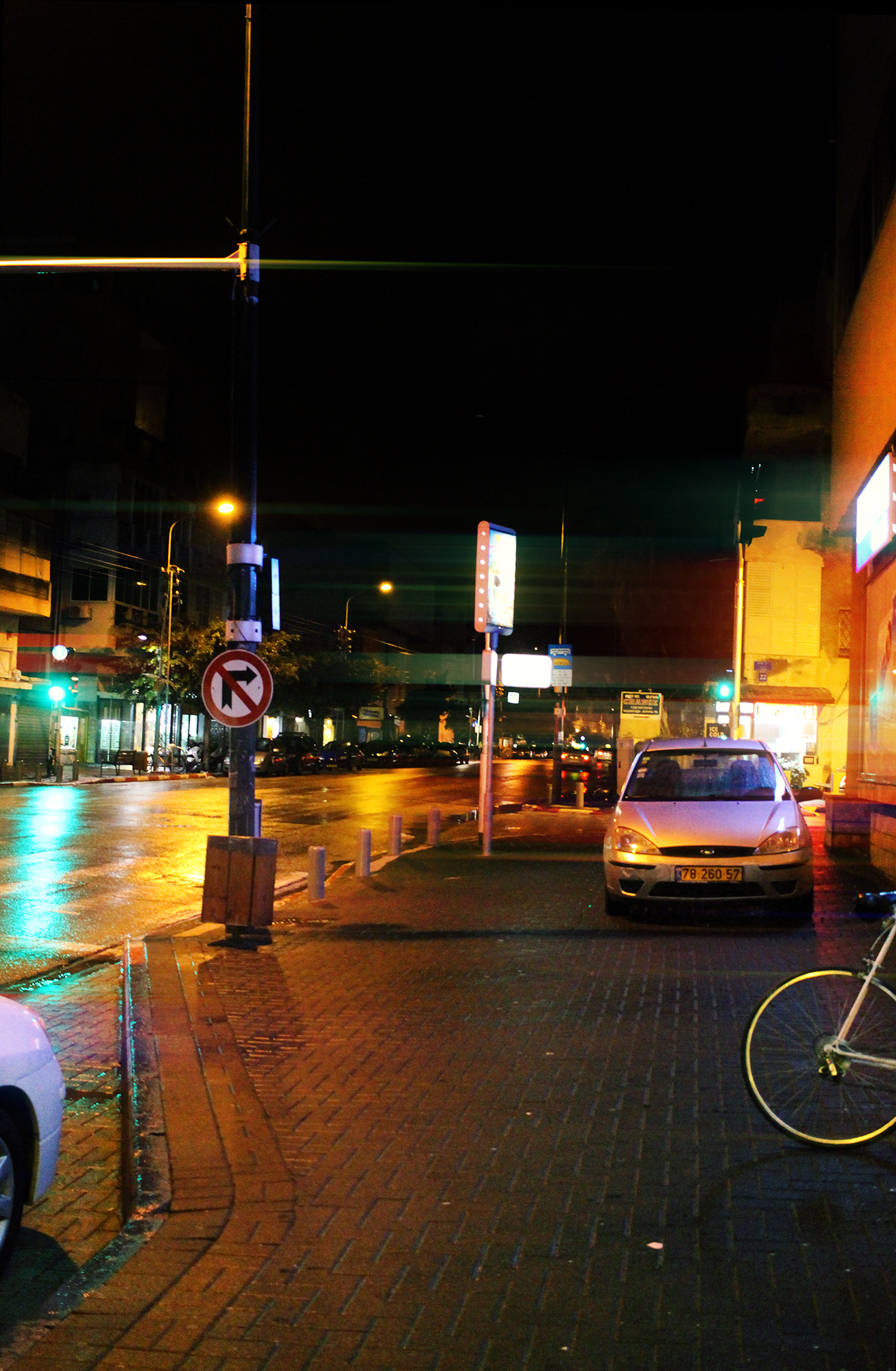 Ben Yehuda Street in Tel-Aviv, Israel. Street and Night photography by Geena Matuson @geenamatuson #thegirlmirage.