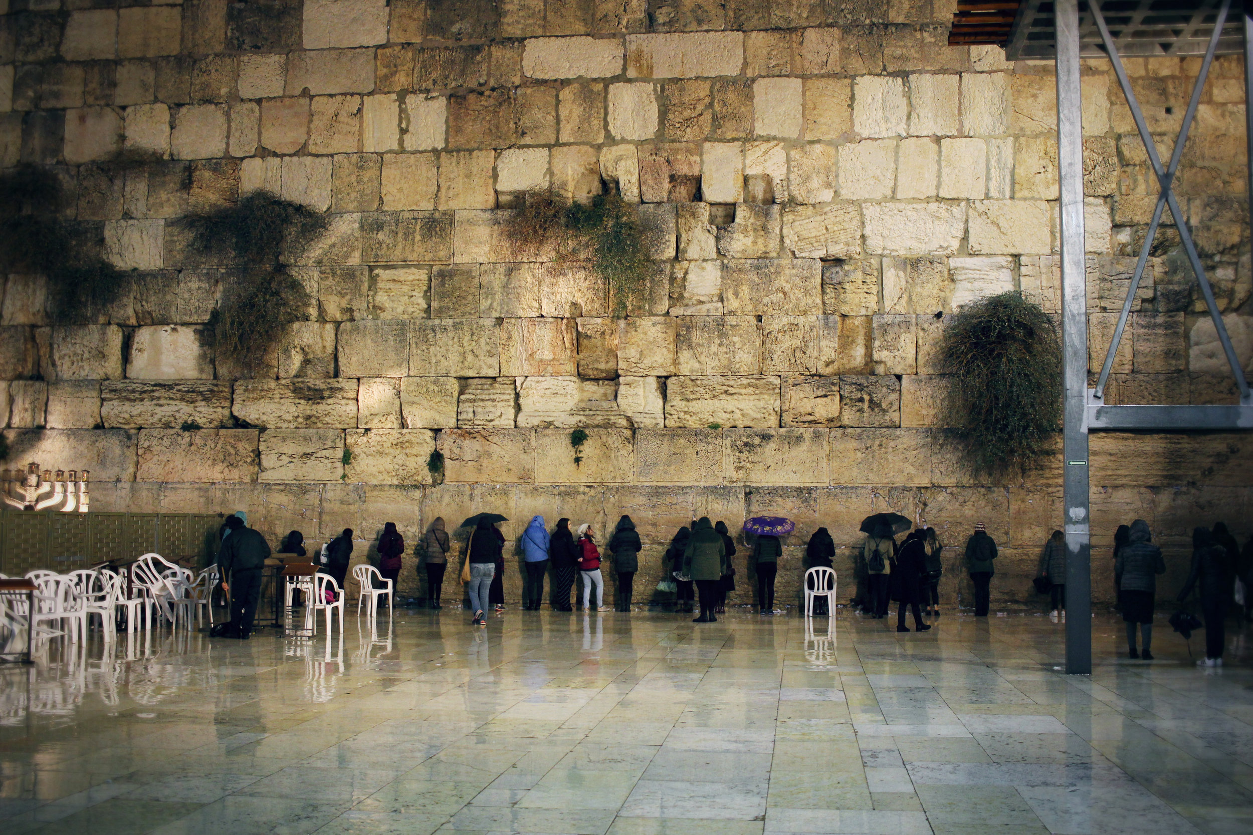 Western Wall in Old City of Jerusalem, Israel. Travel photography by Geena Matuson @geenamatuson #thegirlmirage.