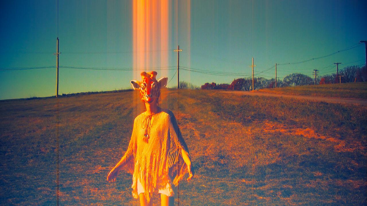 'Follow Me' video art from experimental music video 'Giraffe World' by The Girl Mirage @geenamatuson #thegirlmirage