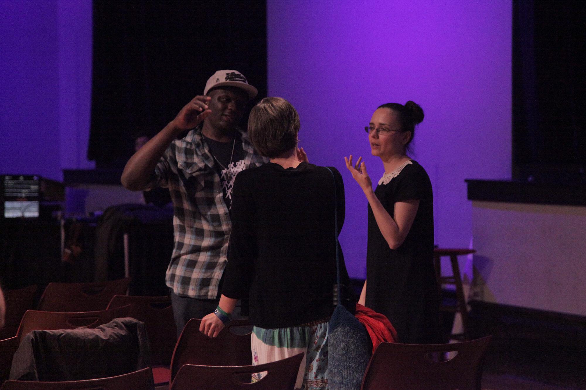 Premiere of Geena Matuson's (@geenamatuson) thesis film 'My Big Bad Wolf,' 2013.