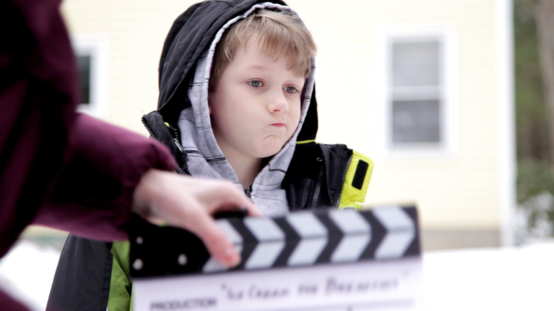 Charlie Tacker in Geena Matuson's (@geenamatuson) short film 'Ice Cream for Breakfast' (2013).