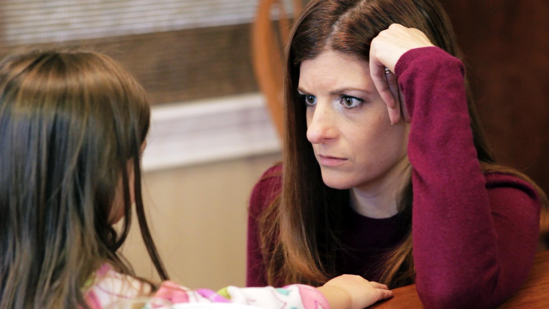 Isabella and Laura Putnam in Geena Matuson's (@geenamatuson) short film 'Ice Cream for Breakfast' (2013).
