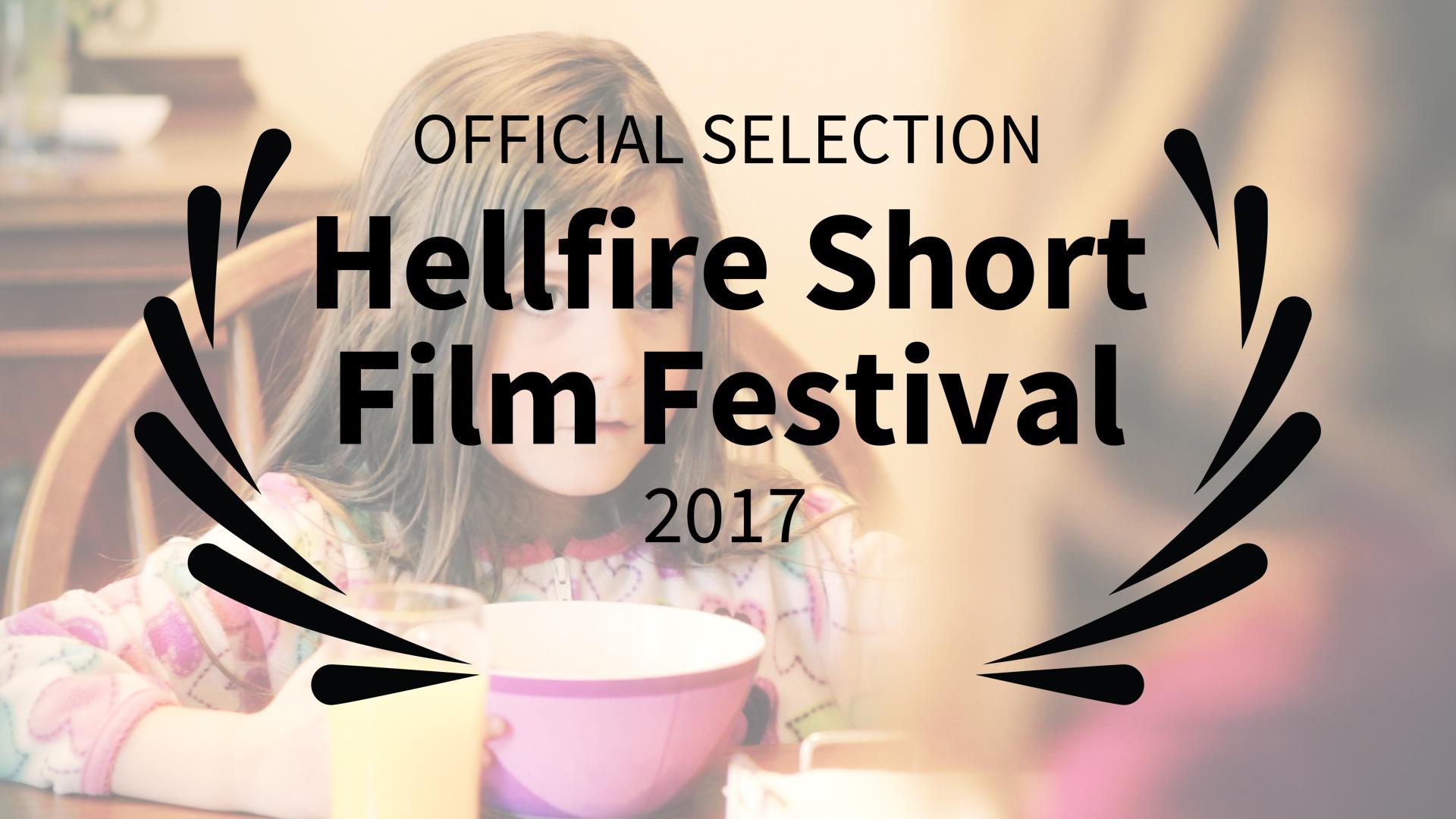 Geena Matuson's 'Ice Cream for Breakfast' Official Selection for Hellfire Short Film Festival 2017 #thegirlmirage @geenamatuson