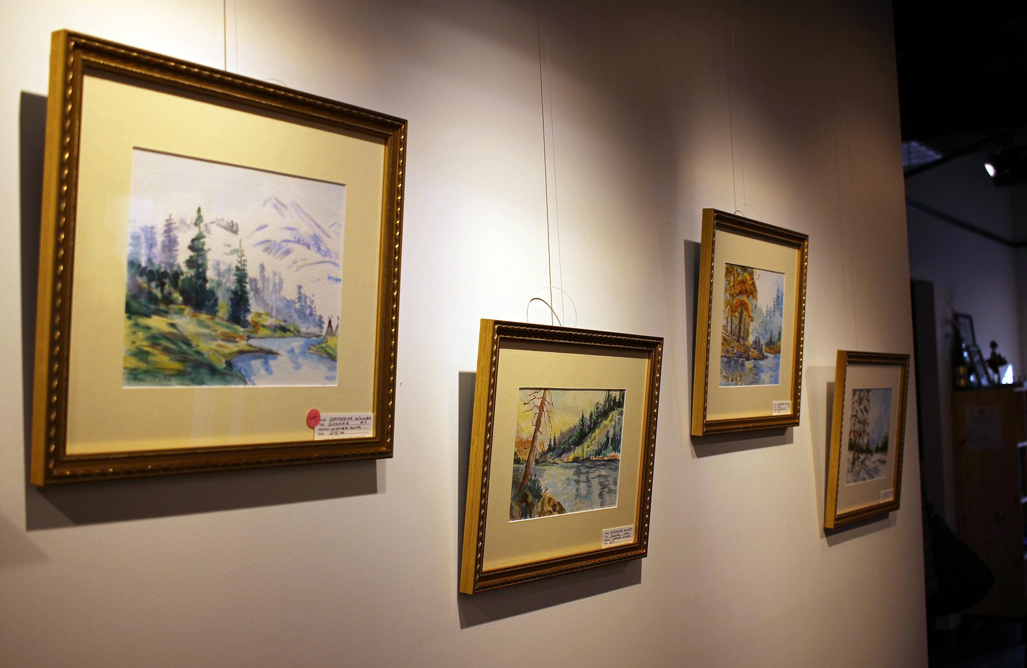 Artist Wollak's Work Displayed at Medfield TV