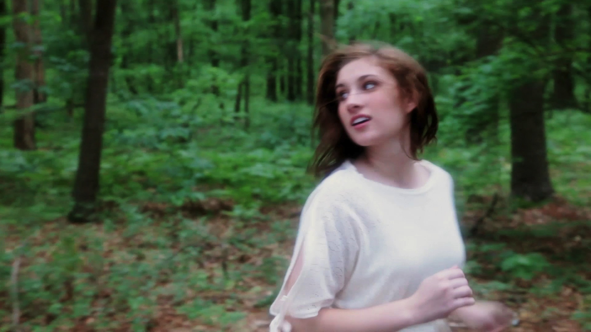 Chelsea Ross Miller in Geena Matuson's (@geenamatuson) thesis film 'My Big Bad Wolf' (2013), filmed in Ponkapoag, MA.