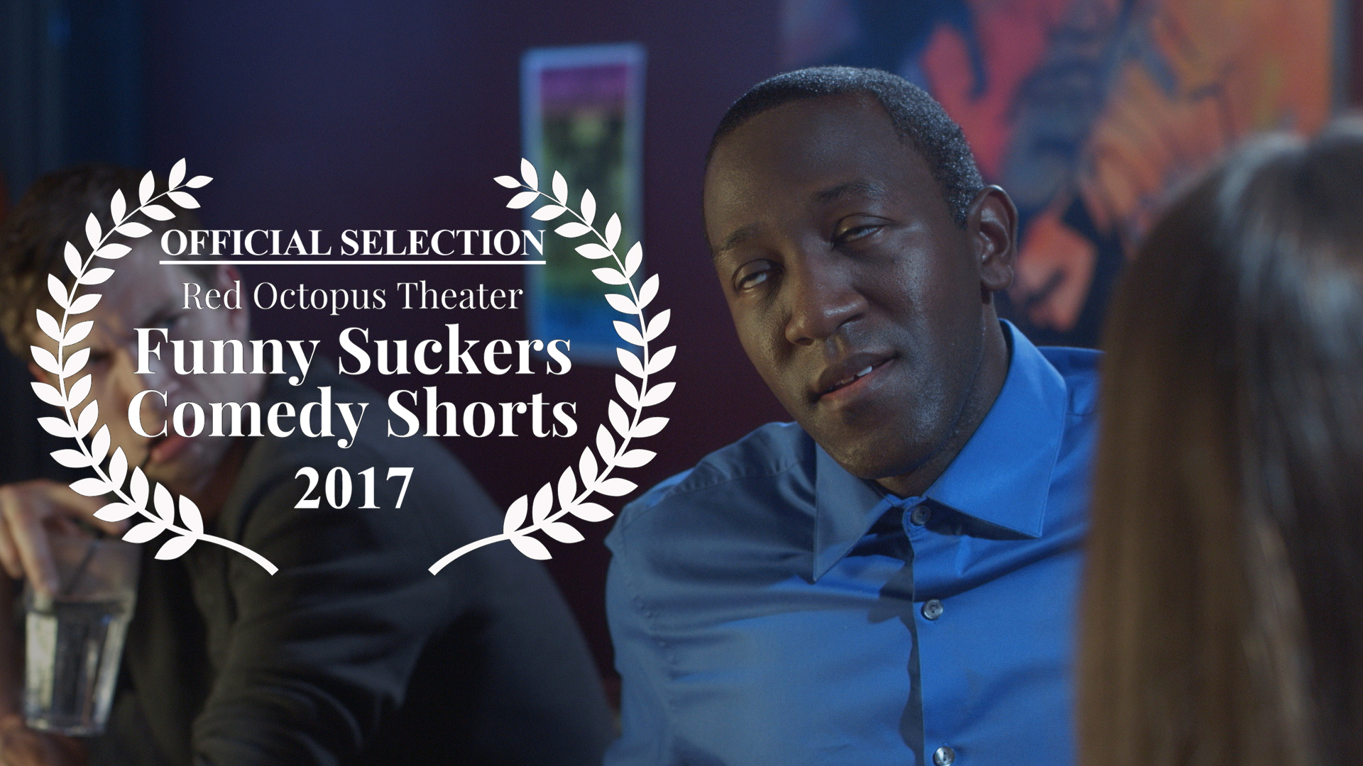 Chris Fisher, Jamaal Eversley and Samantha Webb in Geena Matuson's short 'Depends,' Official Selection of Red Octopus Theater's 'Funny Suckers Comedy Shorts.' See more from The Girl Mirage #thegirlmirage @geenamatuson.