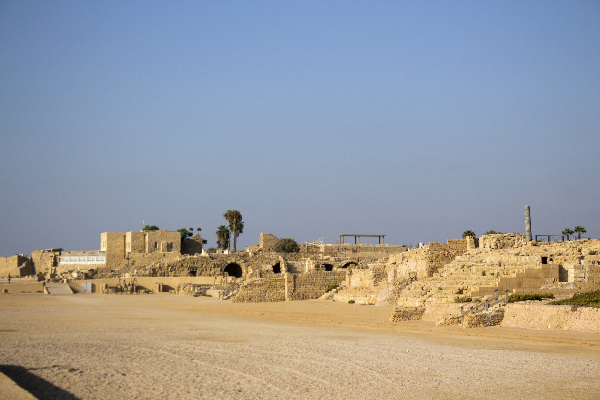 Caesarea Maritima in Israel, photography by 'The Girl Mirage' Geena Matuson @geenamatuson #thegirlmirage.