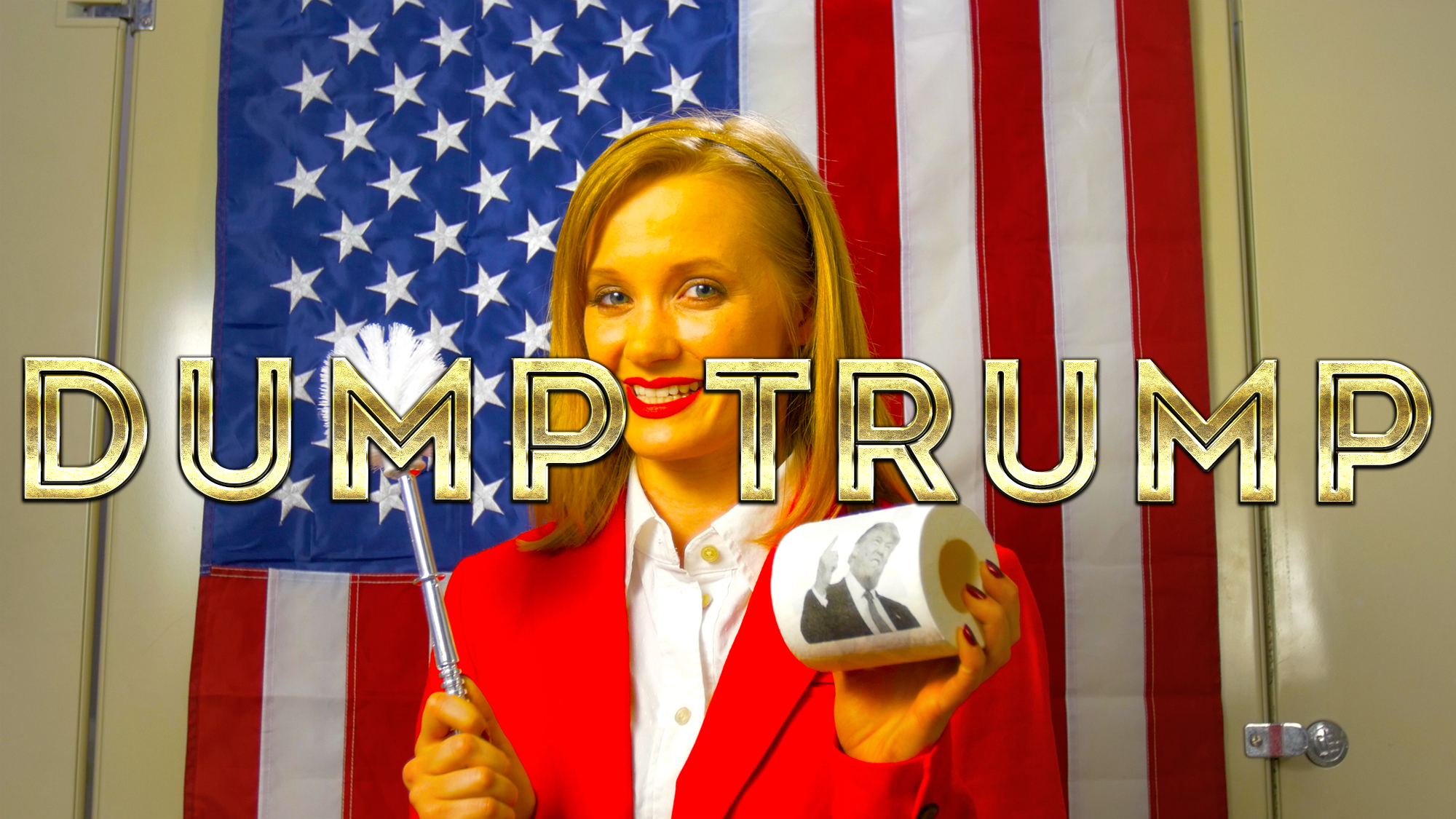 Geena Matuson's (@geenamatuson) short #comedy 'Dump Trump,' part of her #Fauxmercials series of fake commercials. See more work by #thegirlmirage @ https://thegirlmirage.com.