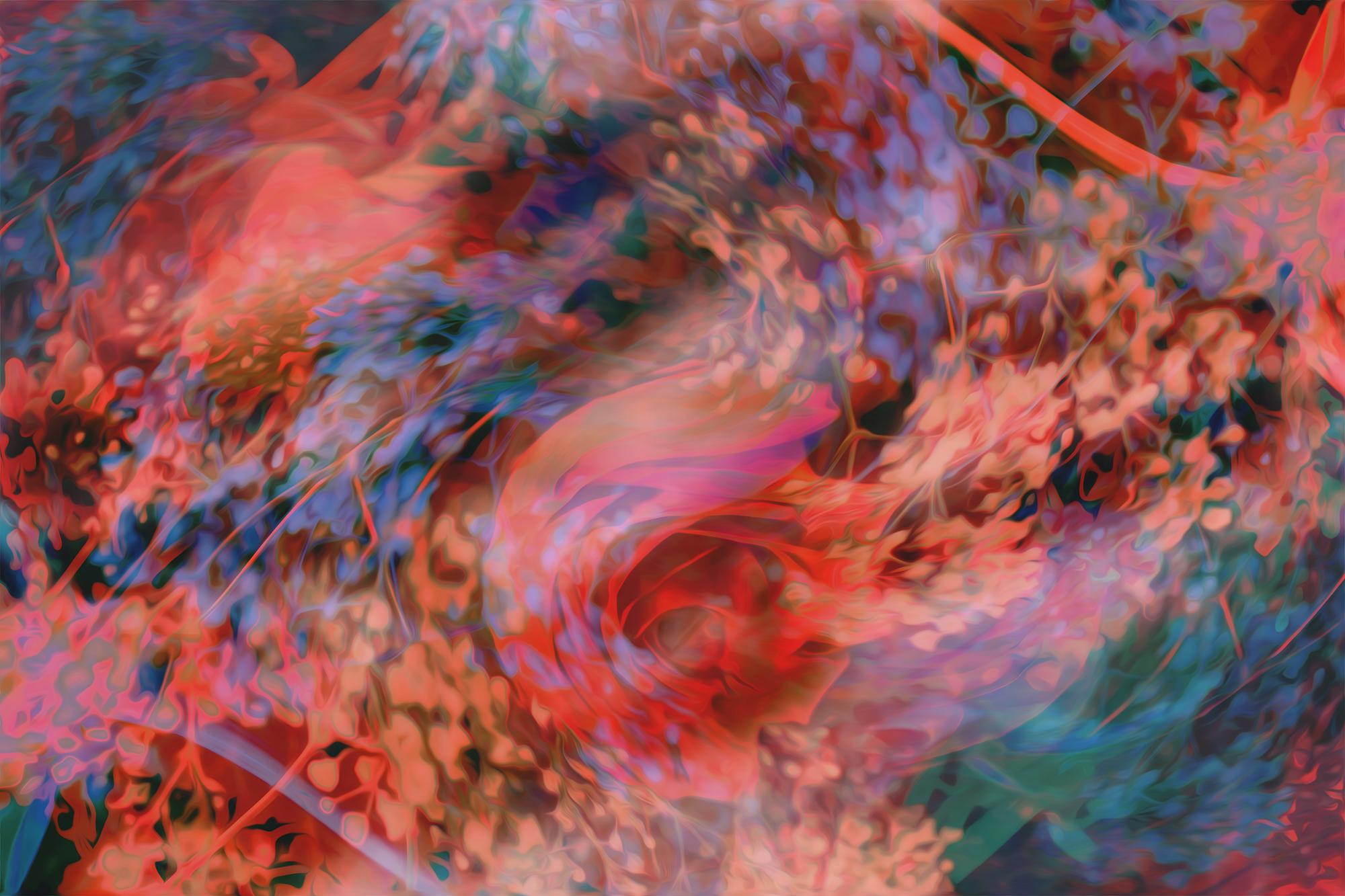 Silk , series 'Flower Daze' / The Girl Mirage @geenamatuson #thegirlmirage