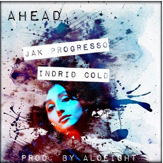 Geena Matuson's art for Aloeight track 'Ahead' on Soundcloud.