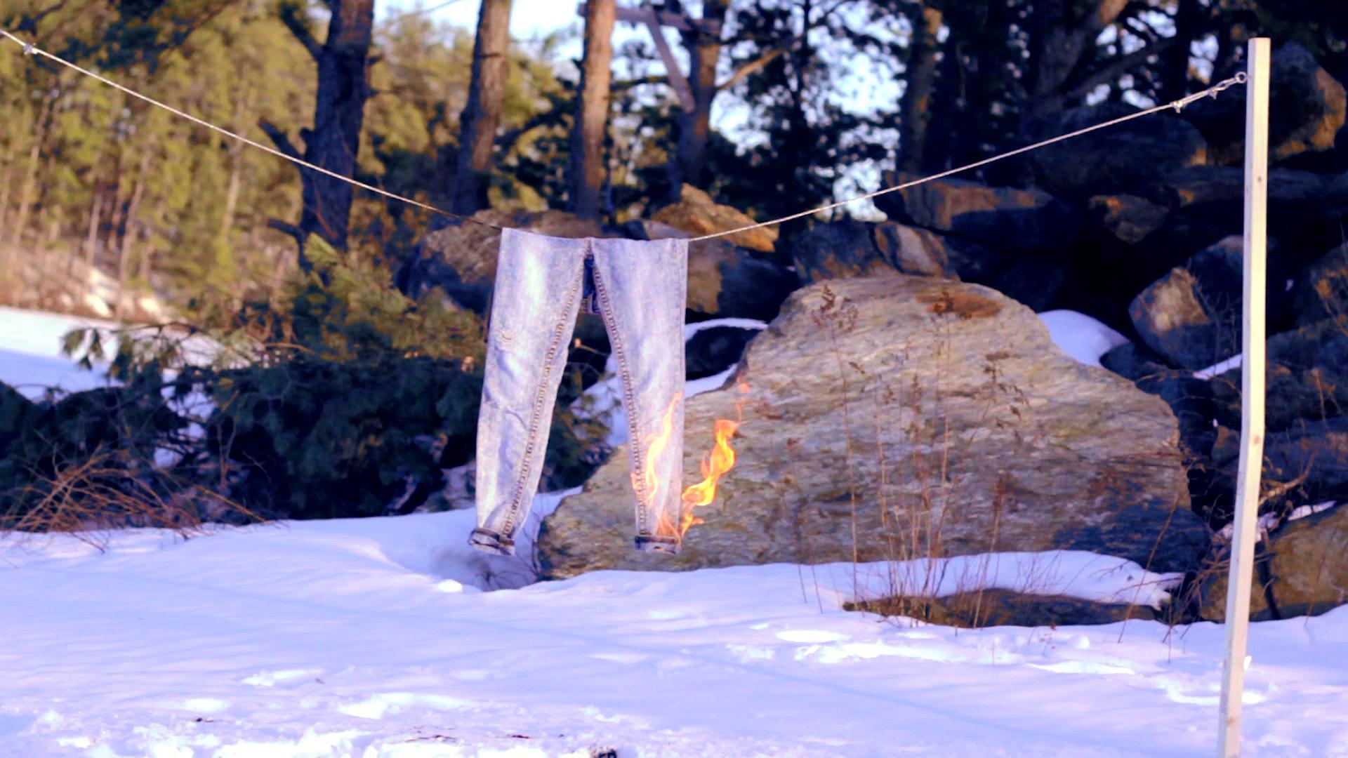 Geena Matuson's (@geenamatuson) multimedia installation 'Liar Liar' (2013). See more @ thegirlmirage.com.