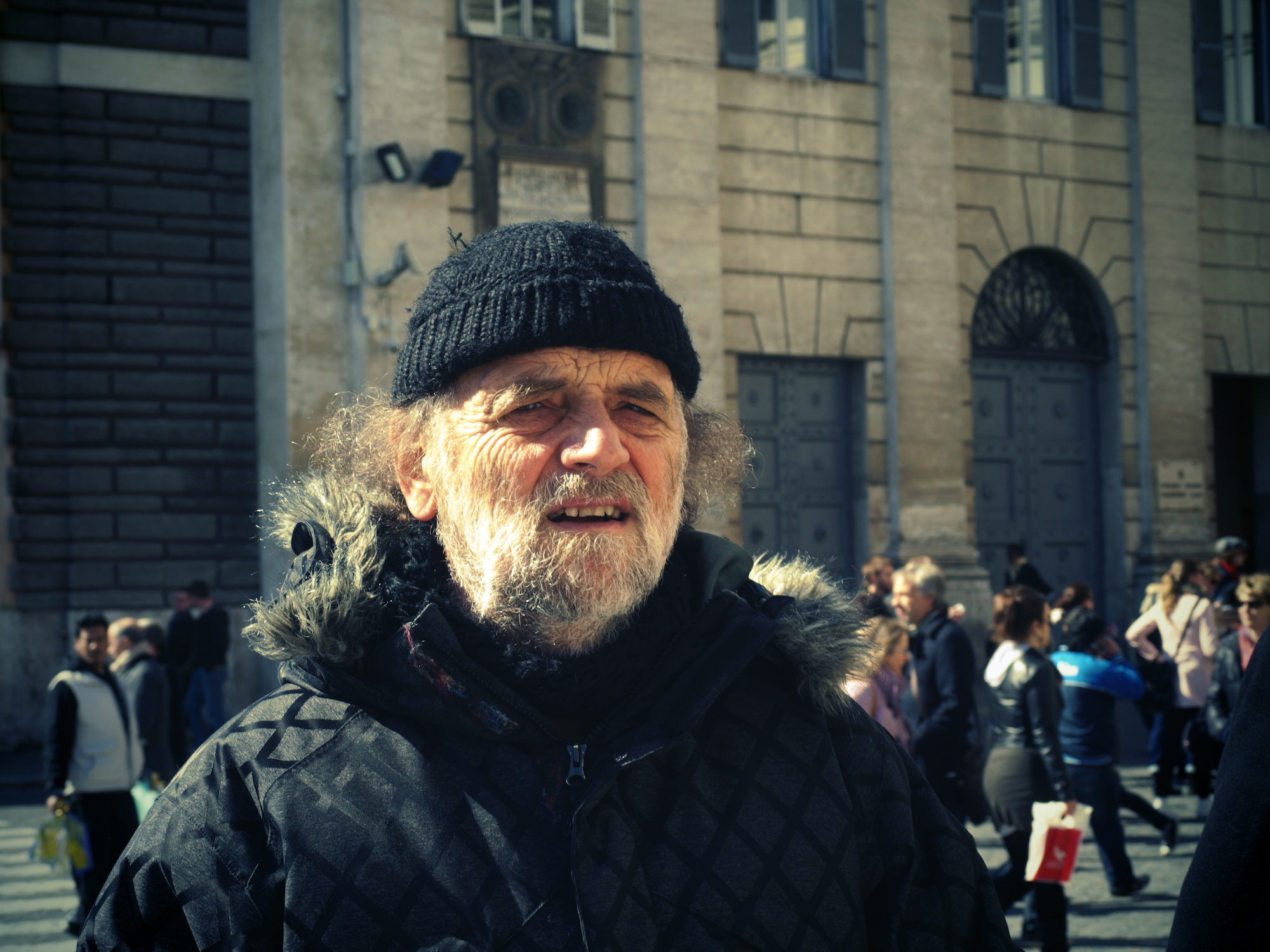 """Like an Old Bill Murray"" taken at Piazza del Popolo in Rome, Italy. Travel photography by Geena Matuson @geenamatuson #thegirlmirage."